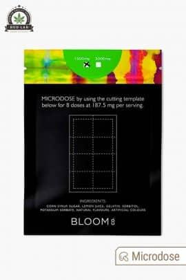 Bloom Lemon Tek Green Apple Gummy 1500mg