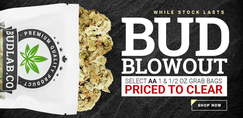 Bud Blowout Home Slider Sale