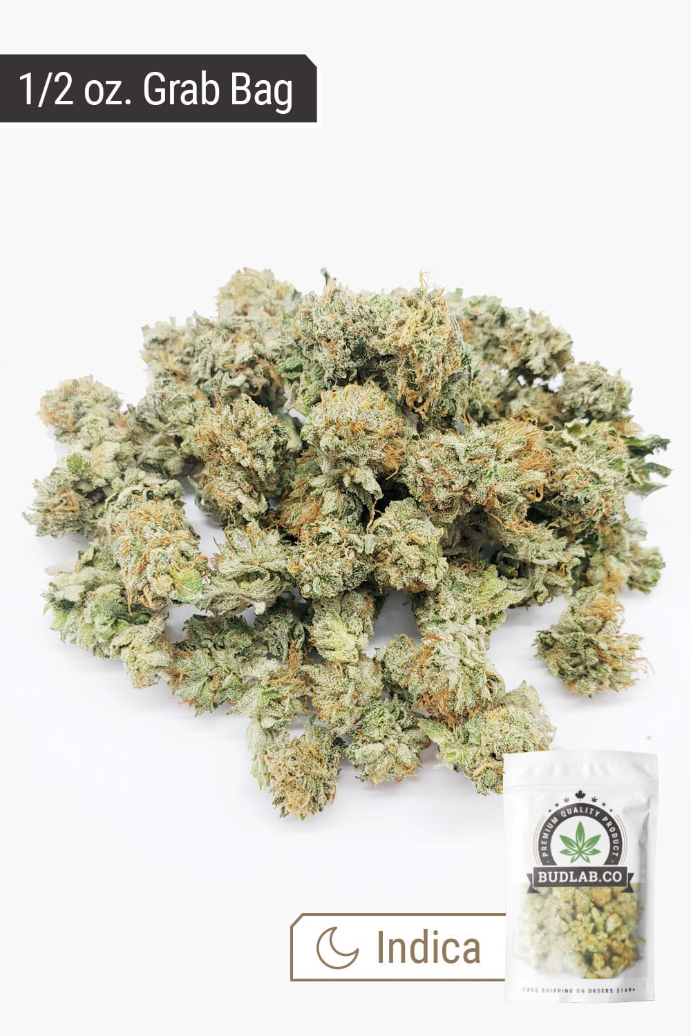 Death Bubba Indica AA Small Buds Grab Bag 2