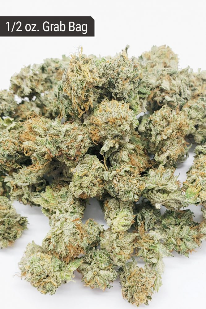 Death Bubba Indica AA Small Buds Grab Bag