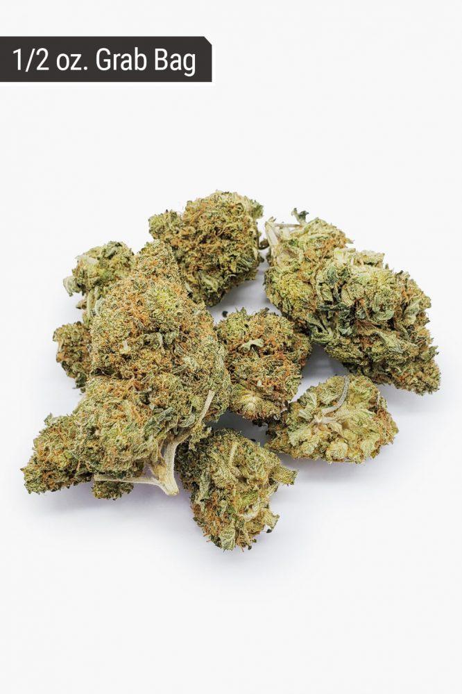 Bubba Kush AA+ 1/2 oz Grab Bag Buds