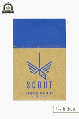 Scout Pre-Rolls Indica Packaging