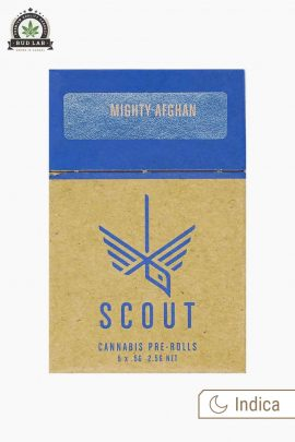 Scout Pre-Rolls Indica Mighty Afghan