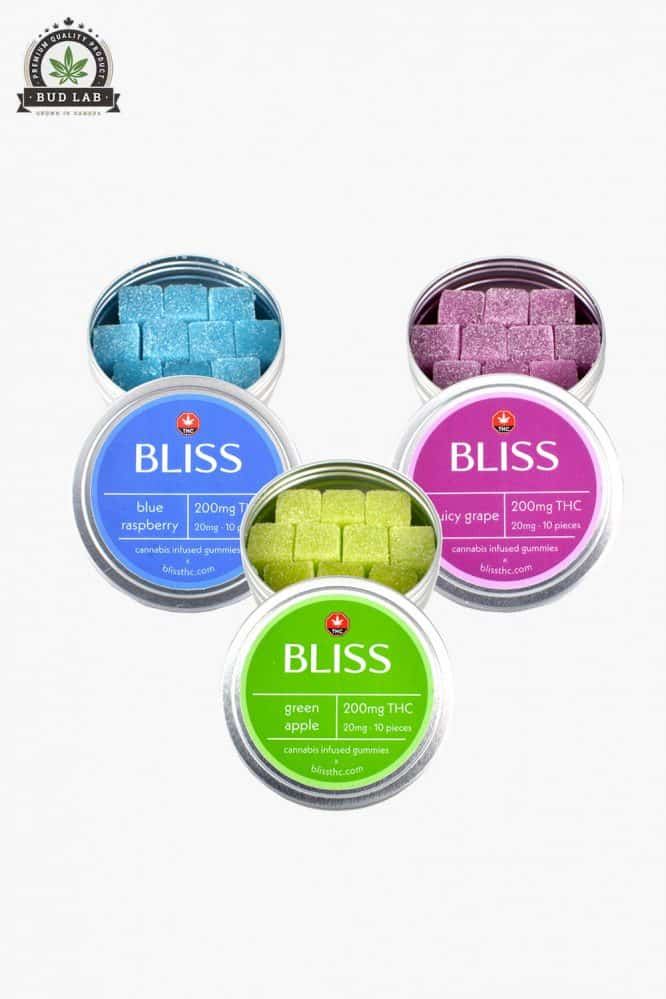 Bliss Edibles THC & CBD Gummies August