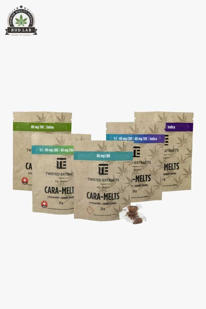 Twisted Extracts THC & CBD Cara-Melts August